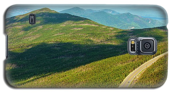 Galaxy S5 Case featuring the photograph Country Road To My Home Whiteface Mountain New York by Paul Ge