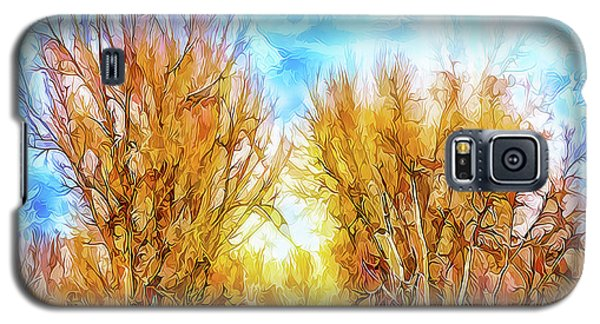 Country Road Wandering Galaxy S5 Case