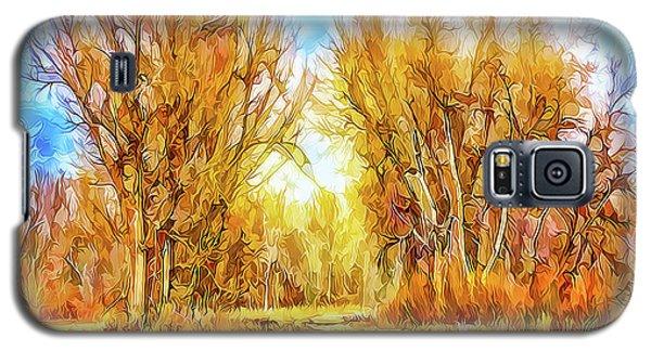 Country Road Wandering Galaxy S5 Case by Joel Bruce Wallach