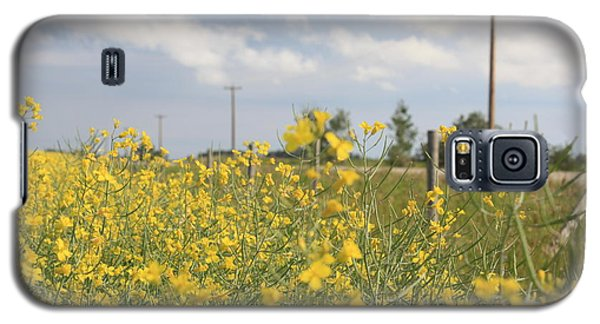 Galaxy S5 Case featuring the photograph Country Road by Wilko Van de Kamp