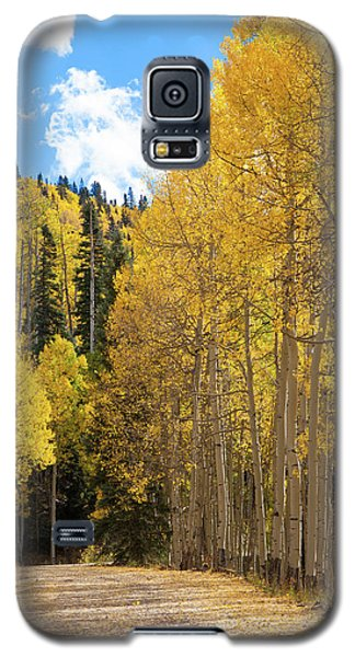 Galaxy S5 Case featuring the photograph Country Roads by David Chandler
