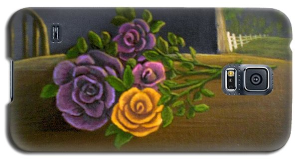 Country Roses Galaxy S5 Case by Sheri Keith