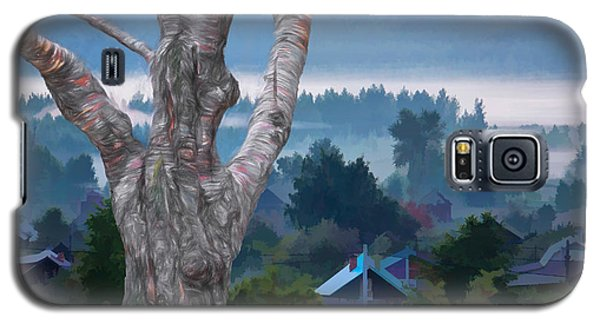 Country Side Morning Mist Galaxy S5 Case by Vladimir Kholostykh