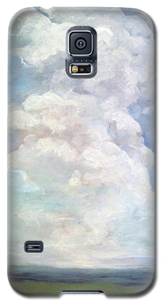 Galaxy S5 Case featuring the painting Country Sky - Painting by Linda Apple