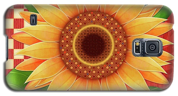 Country Sunflower Galaxy S5 Case