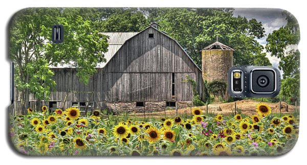 Country Sunflowers Galaxy S5 Case by Lori Deiter