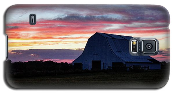 Galaxy S5 Case featuring the photograph Country Sunset by Cricket Hackmann