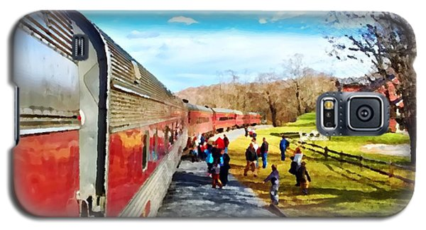 Country Train Depot Galaxy S5 Case