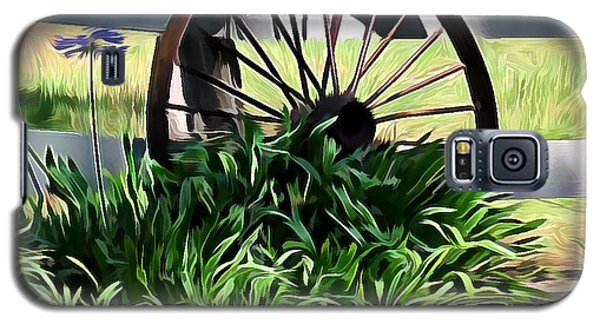 Country Wagon Wheel Galaxy S5 Case