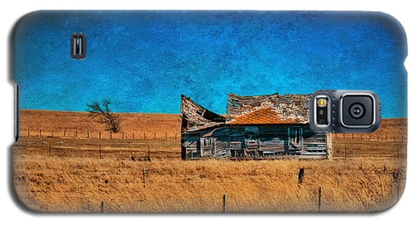 Countryside Abandoned House Galaxy S5 Case