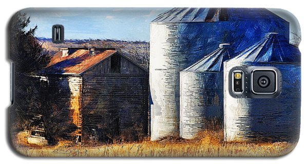 Countryside Old Barn And Silos Galaxy S5 Case