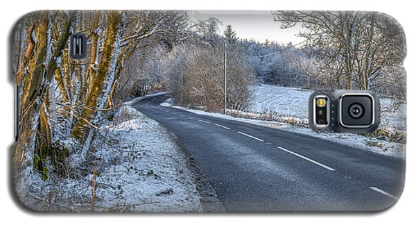 Countryside Road In Central Scotland Galaxy S5 Case