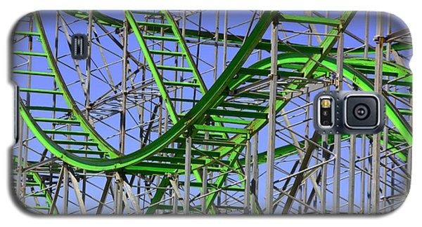 County Fair Thrill Ride Galaxy S5 Case by Joe Kozlowski