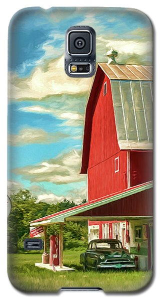 County G Classic Station Galaxy S5 Case by Trey Foerster