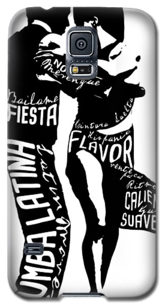 Couple Dancing Latin Music Galaxy S5 Case