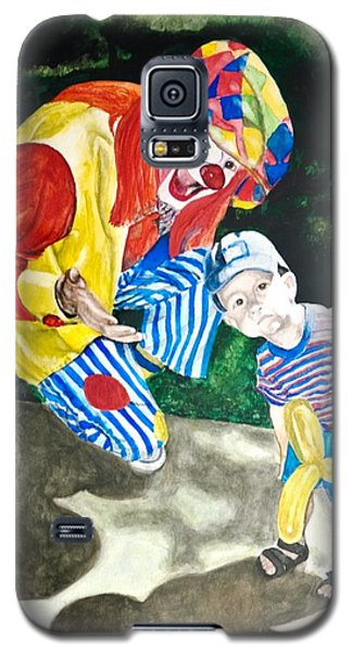 Couple Of Clowns Galaxy S5 Case by Lance Gebhardt