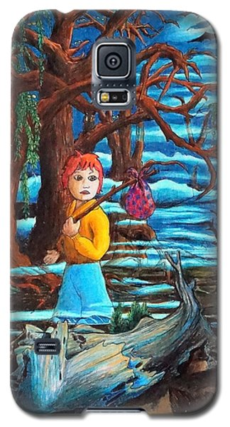 Galaxy S5 Case featuring the painting Courage ... by Matt Konar