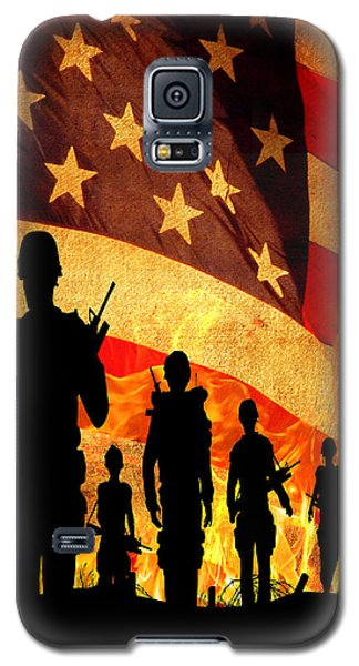 Courage Under Fire Galaxy S5 Case