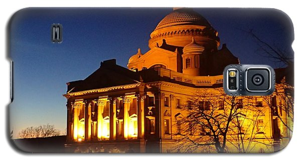 Courthouse At Night Galaxy S5 Case