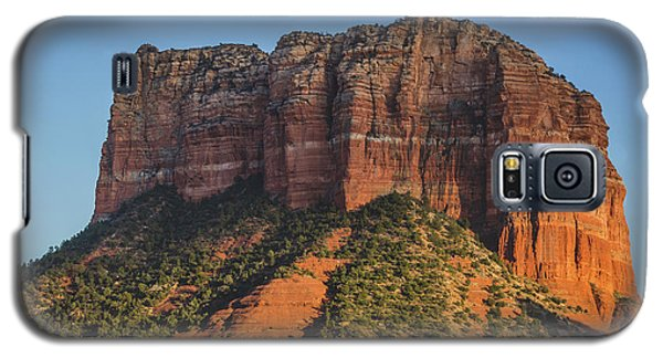 Courthouse Butte At Sunset Galaxy S5 Case