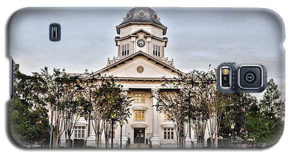 Courthouse In Moultrie Galaxy S5 Case by Jan Amiss Photography