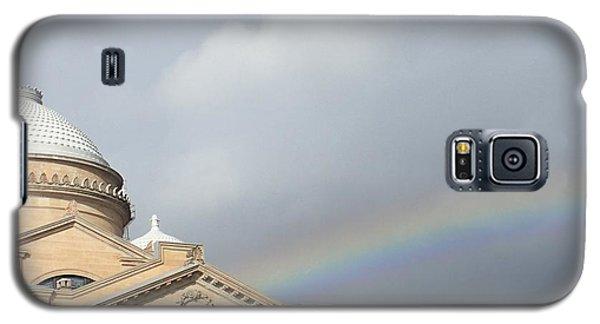 Courthouse Rainbow Galaxy S5 Case