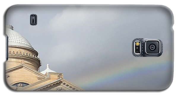 Courthouse Rainbow Galaxy S5 Case