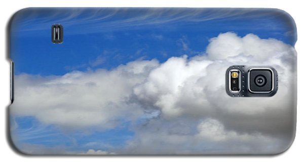 Galaxy S5 Case featuring the photograph Courting Clouds by Gwyn Newcombe