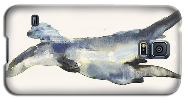Courting Otters  Galaxy S5 Case by Mark Adlington