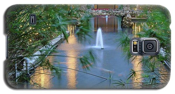Courtyard Garden Galaxy S5 Case