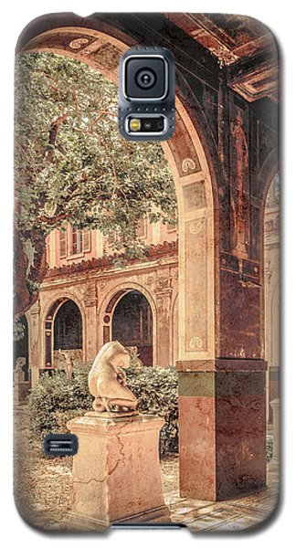 Paris, France - Courtyard West - L'ecole Des Beaux-arts Galaxy S5 Case