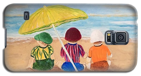 Cousins At The Beach Galaxy S5 Case
