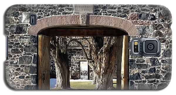Galaxy S5 Case featuring the photograph Cove Fort, Utah by Cynthia Powell