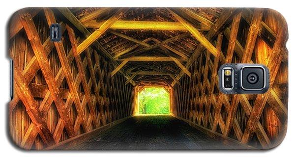 Covered Bridge Interior Galaxy S5 Case