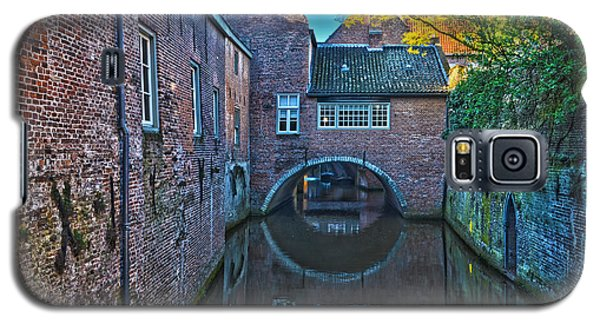 Covered Canal In Den Bosch Galaxy S5 Case by Frans Blok