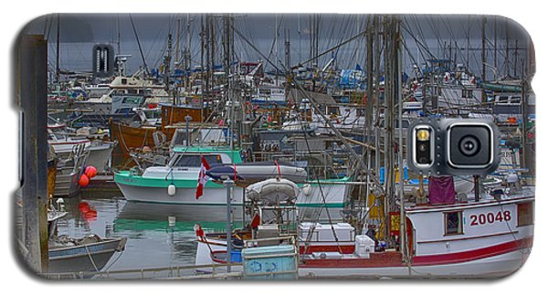Cow Bay Commercial Fishing Boats Galaxy S5 Case