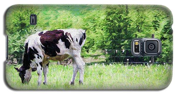 Cow Grazing Galaxy S5 Case