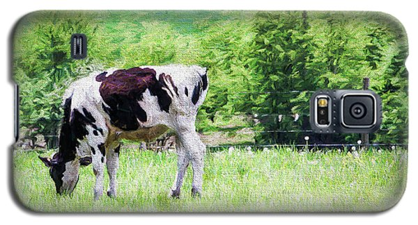 Cow Grazing Galaxy S5 Case