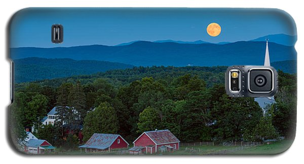 Cow Under The Moon Galaxy S5 Case