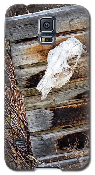 Cowboy Cabin Adornment Galaxy S5 Case