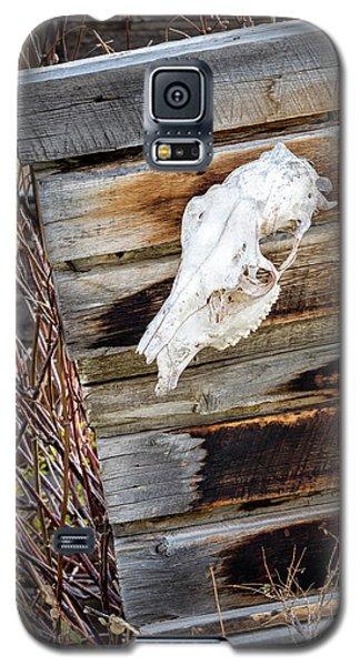 Cowboy Cabin Adornment Galaxy S5 Case