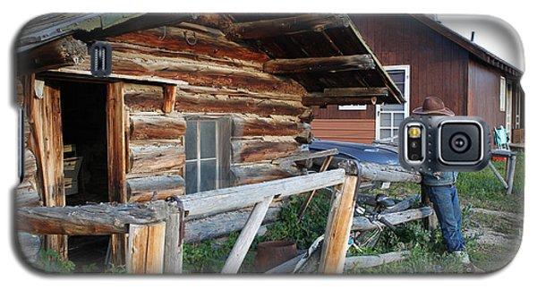 Cowboy Cabin Galaxy S5 Case