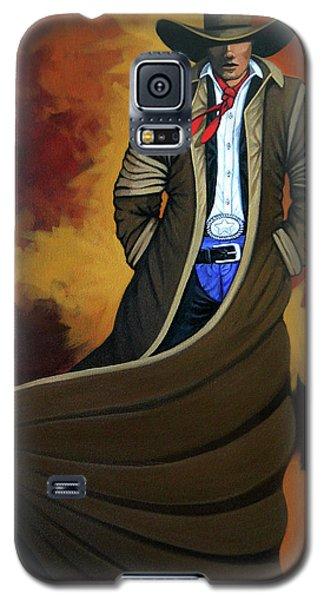 Cowboy Dust Galaxy S5 Case by Lance Headlee