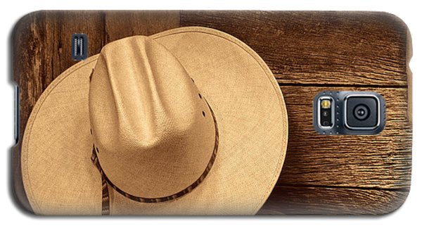 Cowboy Hat In Town Galaxy S5 Case