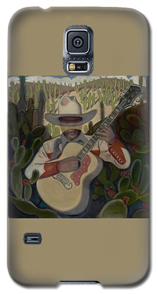 Cowboy In The Cactus Galaxy S5 Case