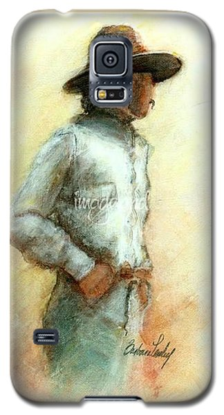 Cowboy In Thought Galaxy S5 Case