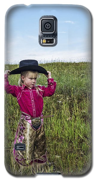 Cowgirl Chick 2 Galaxy S5 Case