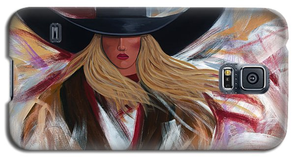 Cowgirl Colors Galaxy S5 Case