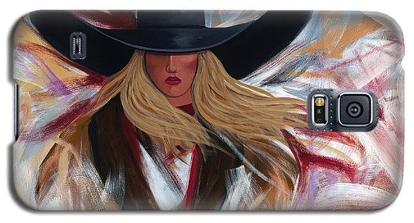 Cowgirl Colors Galaxy S5 Case by Lance Headlee