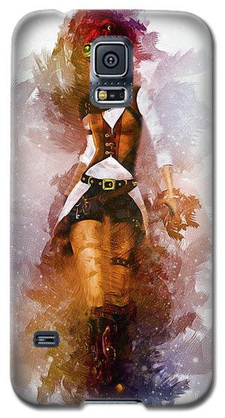 Cowgirl Galaxy S5 Case